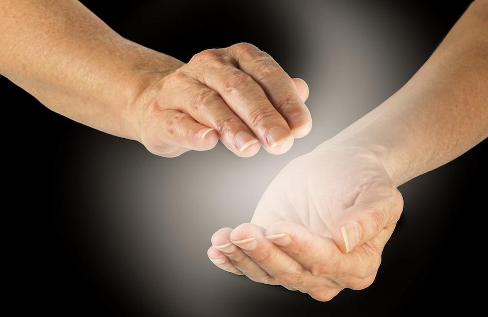 Voel de energie van Reconnective Healing